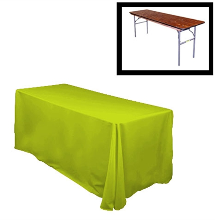 78 x156 rectangular polyester table cloths rounded corners for 10 foot table cloth