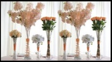 Wedding Table Centerpiece Collection