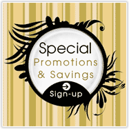 Sign-up for Promotions and Specials