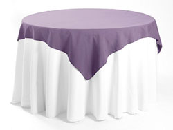 Spun Polyester Tabletop Overlays