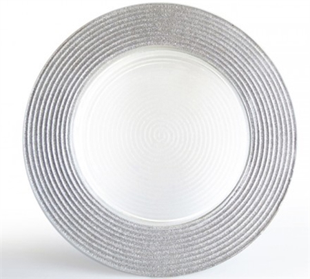 Buy Cheap And Best Quality Decorative Glass Charger Plates