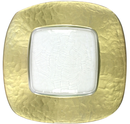 Buy Cheap Decorative Glass Charger Plates