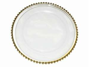 Buy Discounted Decorative Glass Charger Plates Online