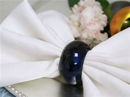 Shop Great Quality Navy Blue Napkin Rings At Cheap Price