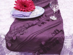 Forest Taffeta Table Runners